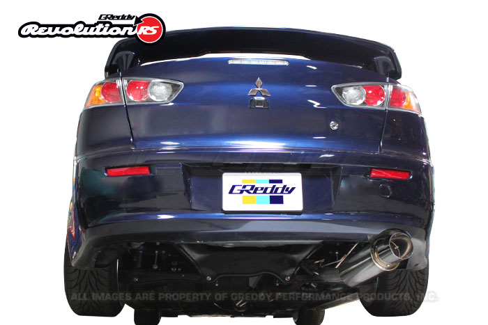 Greddy Revolution RS Exhaust Mitsubishi Lancer GT 12-14 (Axle Back)