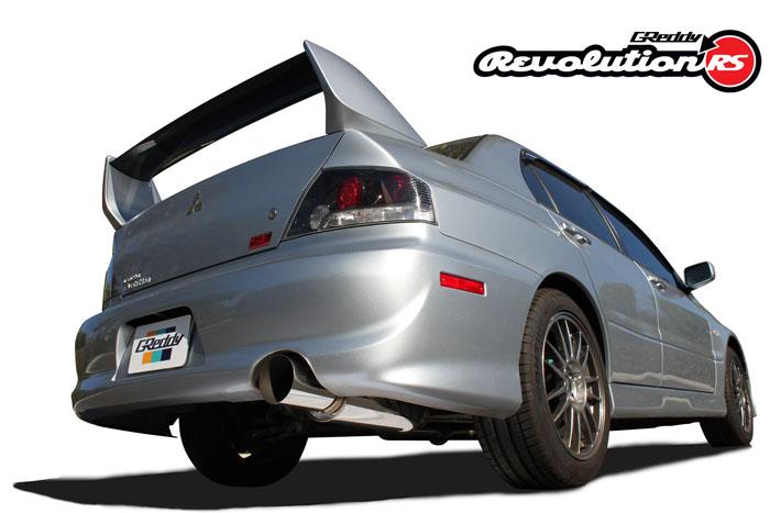 Greddy Revolution RS Exhaust Mitsubishi Lancer Evolution 03-07