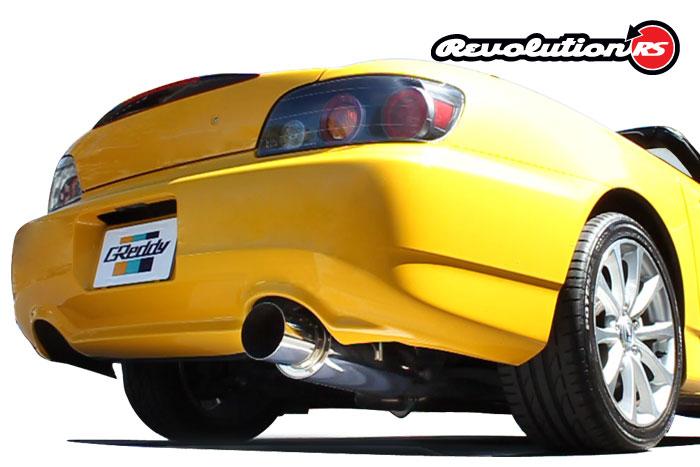 Greddy Revolution RS Exhaust Honda S2000