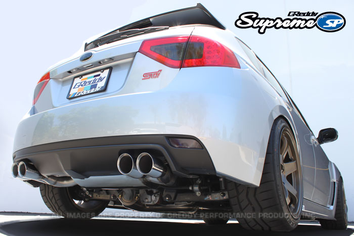 GReddy Supreme SP Exhaust for 08-14 Subaru WRX STi Hatchback