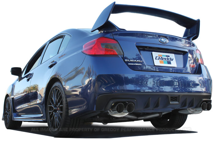 GReddy Supreme SP Exhaust for 2015+ Subaru WRX / STi Sedan