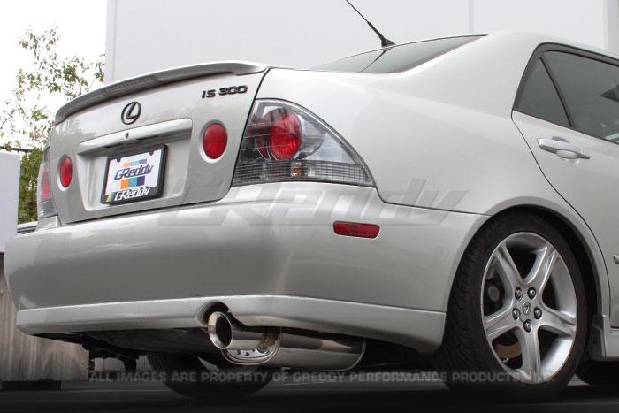 NEW GReddy SP Elite Exhaust for Lexus IS300  ClubLexus  Lexus